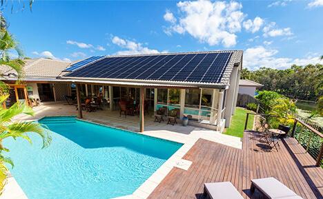 Solar Heating Pool